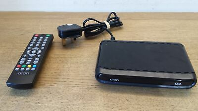 Dion STB1AW09 DIGITAL Set Top TV Freeview Box with Original Remote Grade B