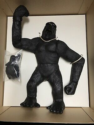 VINTAGE KING KONG TSUKUDA HOBBY JUMBO FIGURE SERIES No.49 MODEL KIT RARE 1986