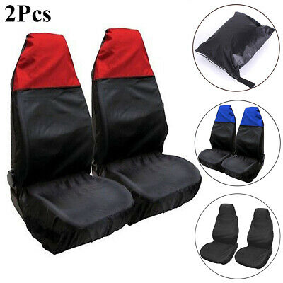 Nylon  Anti-dirty Front Chair Car Seat Covers  Cushion Case Protectors Van