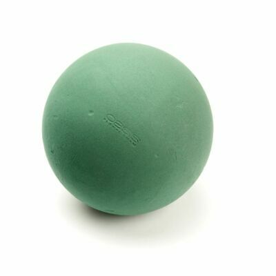 Oasis Maxlife Wet Floral Foam Sphere x 30cm - Fresh Flower Topiary Ball