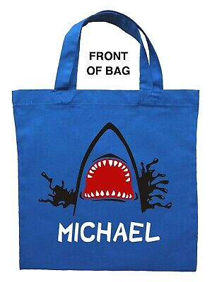 Front Pirate Scene Beach Tote Bag Large Personalized