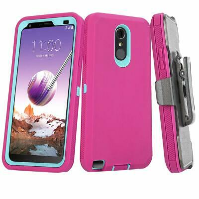 FOR LG STYLO 4/ 4+ Case With Belt Clip (Fit Otterbox