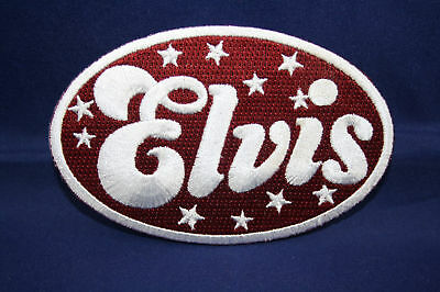 Aufnäher Patch Elvis Presley Rockabilly Rock N Roll Fifties The King Music