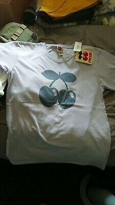 Pacha Ibiza Cherry T-Shirt..BNWT..Size Small..lilac,,purple