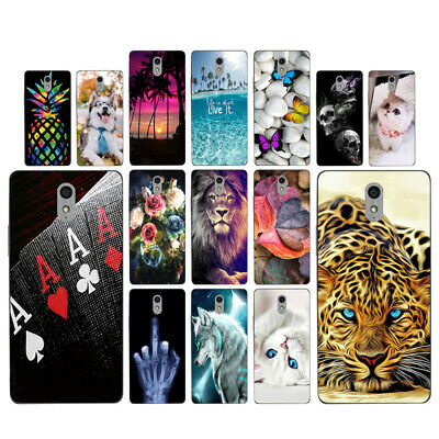 Clear Case For Lenovo Vibe P1M Soft TPU Silicone Phone Back Cover Views Skins