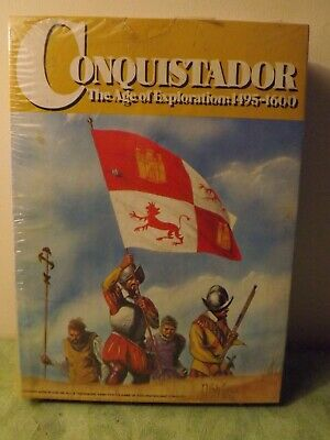 Avalon Hill 'Conquistador' Board Game New and Sealed