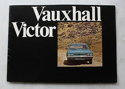 Catalogue VAUXHALL VICTOR GM -1970 - 20 pages - Vintage