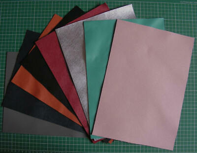Saffiano Large Leather Rectangles.  Leathercrafts, etc