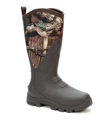 MUCK Boot Co WOODY GRIT WDC-INF Mossy Oak Infinity Camo Waterproof Rubber Boots
