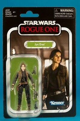 STAR WARS JYN ERSO TVC119  #VC119 VINTAGE COLLECTION 2018 blister NEUF