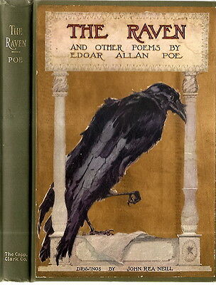 THE RAVEN. By Edgar Allan Poe. (Illustrated by John Rea Neill)