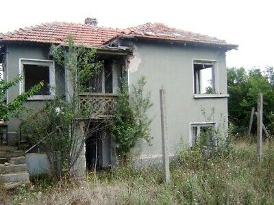 Strike a Bargain - a house with 1000 sq.m. plot of land 20 miles from Yambol