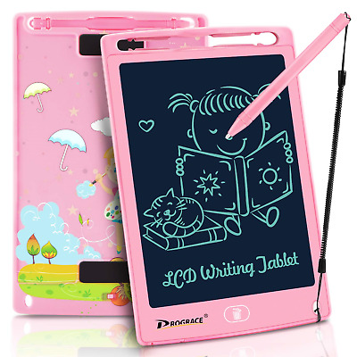 PROGRACE LCD Writing Tablet for Kids Learning Writing Board LCD Writing Pad Pads