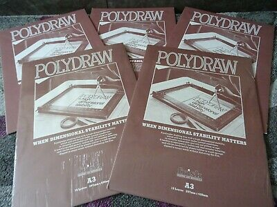 Polydraw Polyester Drafting Film Pad A3 New & Sealed