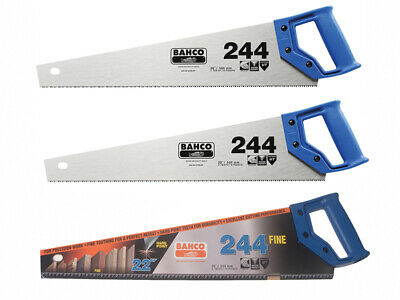 Bahco 2 x 244 Hardpoint Handsaw 550mm & 1 x 244 Fine Cut Handsaw 550mm (22in)