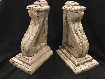 Antique Style Wooden Painted Corbels G2