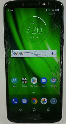 Motorola Moto G6 Play XT1922-7 16GB Boost Mobile Android Smart Cellphone BLUE