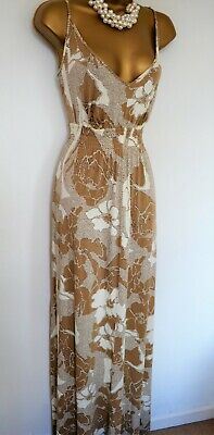 BLOOMING MARVELLOUS Maternity dress Maxi Summer Size 12 Holiday