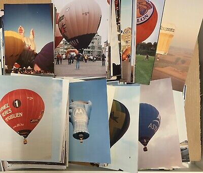 Hot Air Balloon photos Huge 655 lot 1994 1997 2000 - 2010 USA Europe photographs