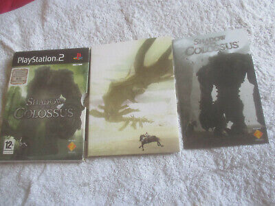 Shadow of the Colossus / No disc / Box & Manual Cover / Playstation 2 / PS2