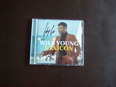 Will Young Lexicon CD Signed Edition.....Brand New