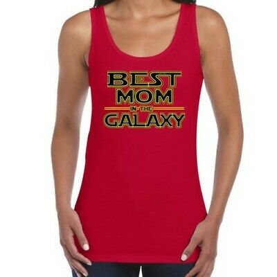 Pour Femme Drôle T Shirts-Best Mom en Galaxy Star Wars Inspired Tshirt Funny
