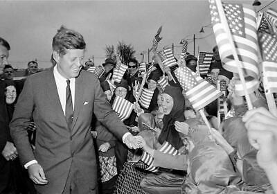 JOHN F KENNEDY JFK GLOSSY POSTER PICTURE PHOTO PRINT president campaign 5049