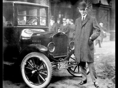 HENRY FORD GLOSSY POSTER PICTURE PHOTO model t detroit car vehicle historic 1073