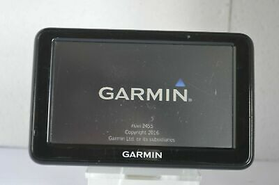 Garmin Nuvi 2455LM (UK + Full Europe 2019 maps installed) Navigation Gps System