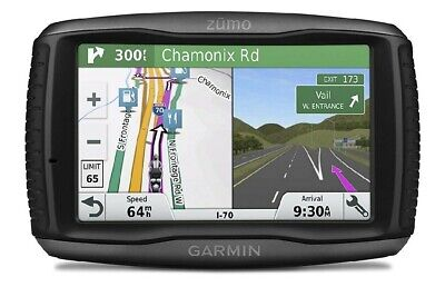"Garmin Zumo 595LM Motorcycle 5"" GPS Sat Nav│FULL UK Europe LIFETIME Maps Updates"