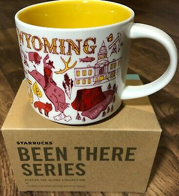 Starbucks Been There Series 14oz. Mug WYOMING - NEW!