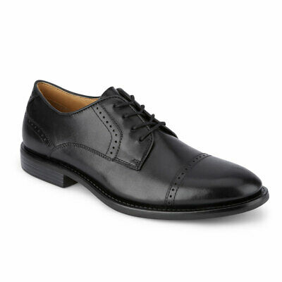 Dockers Mens Hawley Genuine Leather Business Dress Cap Toe Lace-up Oxford Shoe