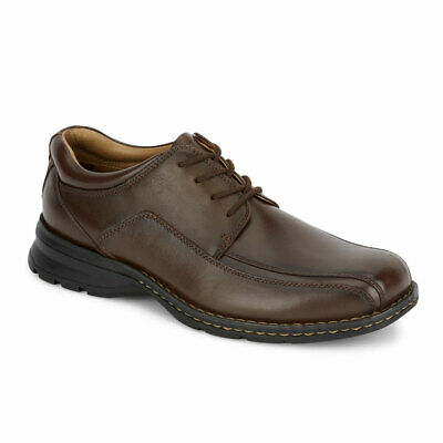 Dockers Mens Trustee Genuine Leather Dress Casual Lace-up Oxford Comfort Shoe