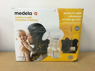 Medela Pump in Style Advanced with On the Go Tote Double OPEN BOX