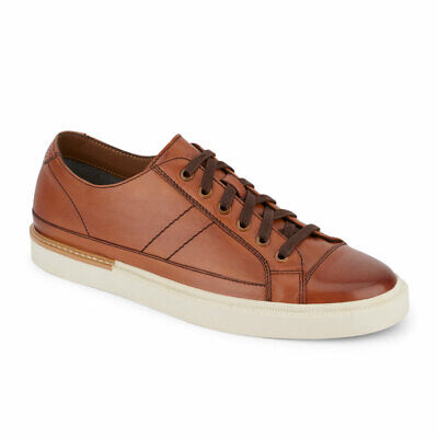 Lucky Brand Mens Dawson Genuine Leather Lace-up Casual Fashion Sneaker Shoe
