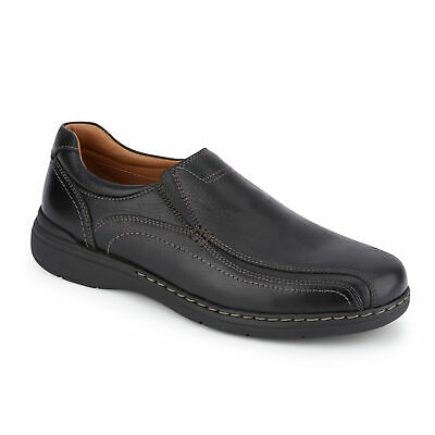 Dockers Mens Mosley Genuine Leather Dress Casual Slip-on Rubber Sole Shoe