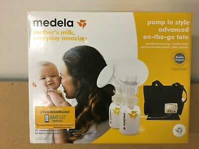 Medela-Pump-in Style-Advanced with On the Go Tote Double Great