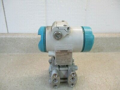Siemens Sitrans Pressure Transmitter For Diff. Psi #71317G Used