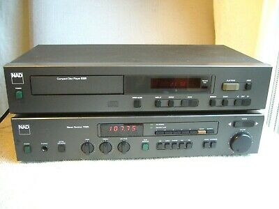 NAD Stereo Receiver 7020i with MM Phono Stage for Turntable *Free NAD CD Player*