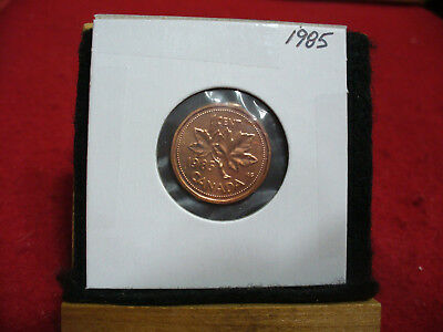 1985  Canada  1  Cent Coin  Penny  Proof Like  High  Grade  Sealed  See Photos
