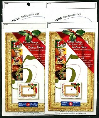 Weeda Canada BK227a-b, 232a-b VF MNH Picture Postage booklets CV $28