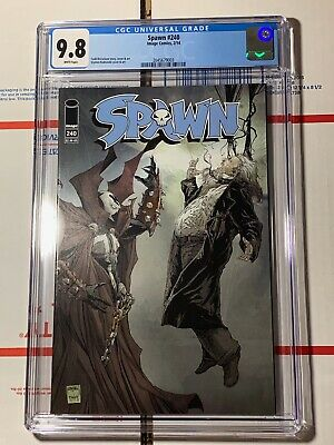 Spawn #240 CGC 9.8 (Image Comics 2014) McFarlane story, cover, and art