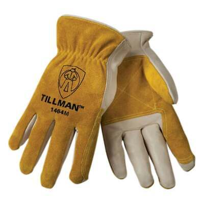 Tillman 1464 Top Grain Cowhide/Split Drivers Gloves, Medium