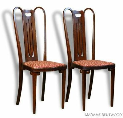 Pair of Chairs Early 20th in the Taste Civil Viennese, Joseph Hoffmann