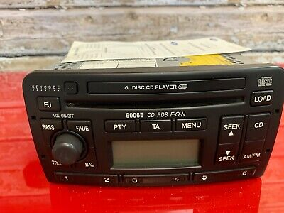 Ford 6006E 6 Disc Cd Changer Radio Player