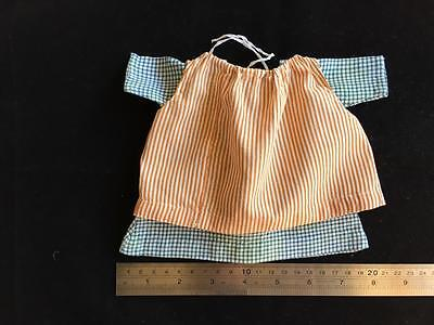 Antique Dolls Dress And Pinafore C1920-30