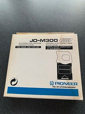 Pioneer six-compact-disc CD magazine JD-M300 In Box