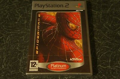 Spider-Man 2 Platinum Sony PlayStation 2, 2005 Brand New and Factory Sealed PAL