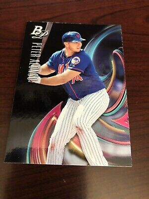 Peter Alonso 2018 Bowman Platinum Rookie Rc Card #Top-15 - Mets *Mint*
