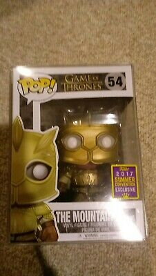 The Mountain (Armored) SDCC 2017 Funko Pop! Game of thrones w/ soft protector